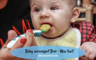 Baby verweigert Brei