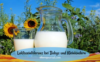 Laktoseintoleranz bei Babys und Kleinkindern